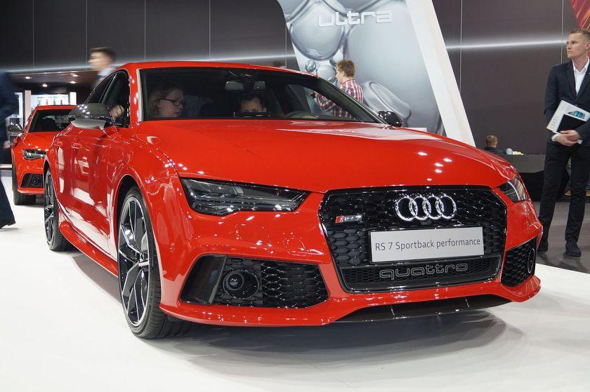 2016 Audi RS7 Sportback Performance Quattro