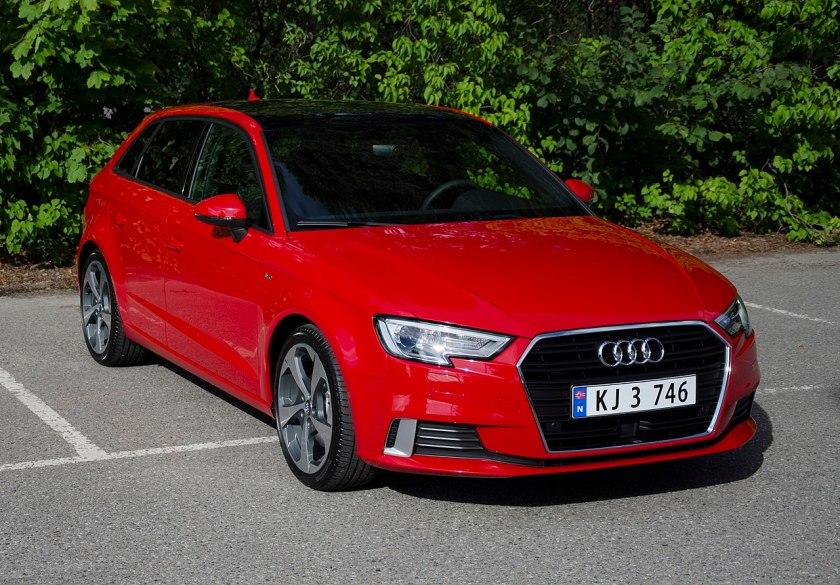 2017 Audi A3 SportBack 2.0 TFSI S-line