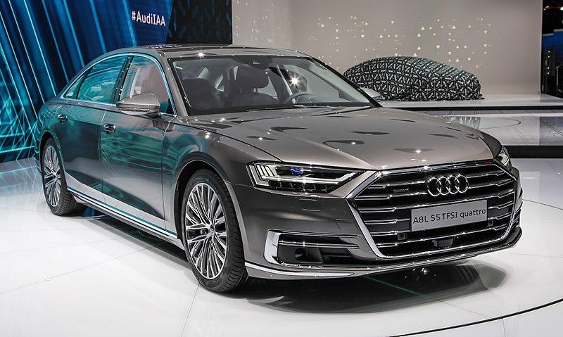 2017 Audi A8L 55 TFSI Quattro D5