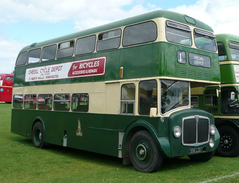A preserved AEC Renown vehicle previously operated by King Alfred Motor Services in Winchester