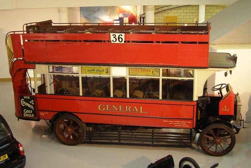 AEC S-Type Bus (S742)