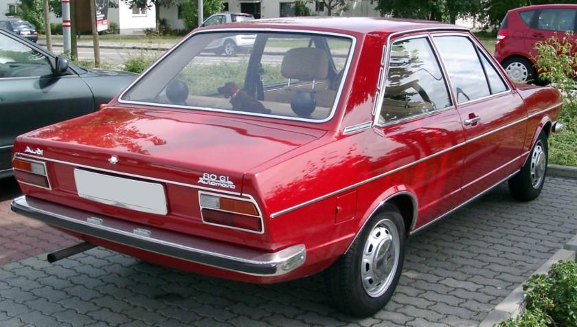 Audi 80 B1 back