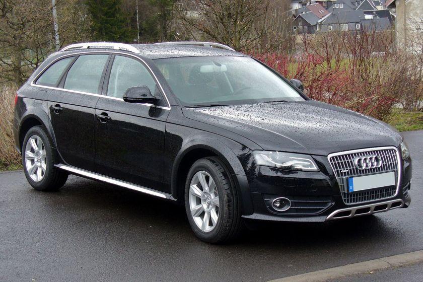 Audi A4 allroad quattro Phantomschwarz