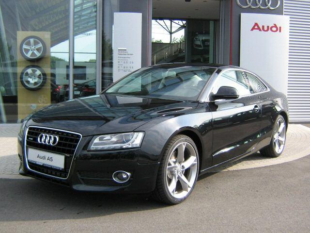 Audi A5 left