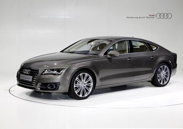 Der neue Audi A7 Sportback auf der Weltpremiere in Muenchen.