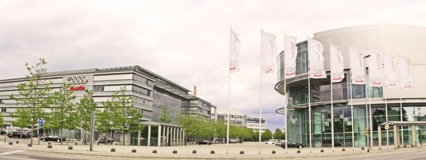 Audi head office in Ingolstadt