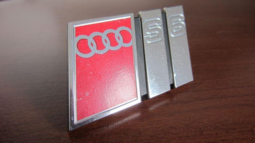 Audi S6 Fähnchen