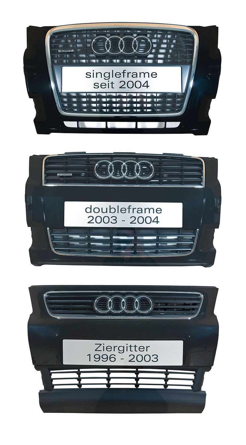 Entwicklung Audi Kühlergrill