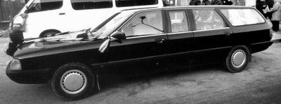FAW Hongqi Audi 100 C3 (Typ 44) - in einer werksseitig verkauften Sonderversion als Bestattungsfahrzeug