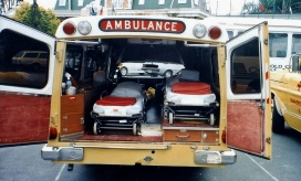 Holden 1 Tonner ambulances