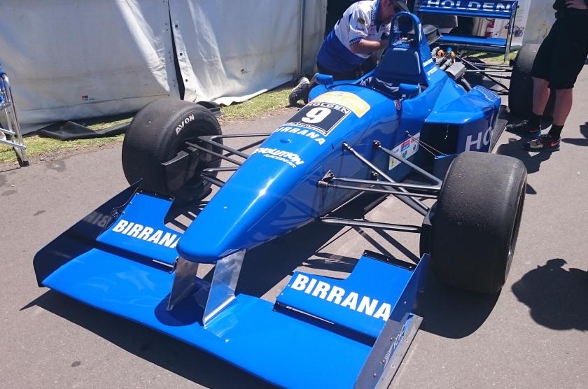 Holden 9 Reynard 94D of Brenton Ramsay - Formule