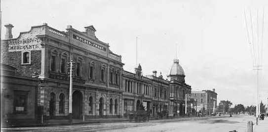 Holden and Frost premises, Grenfell Street, Adelaide