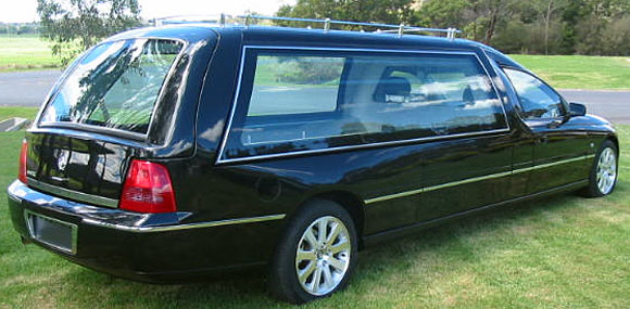 Holden Caprice high roof hearse a