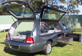Holden Caprice high roof hearse b