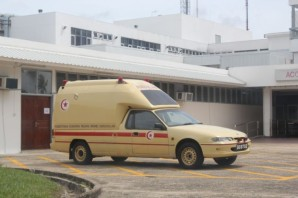 Holden Commodore ambulance 2066