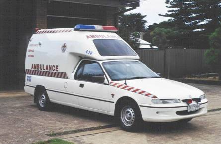 Holden Commodore Ambulance Vic430