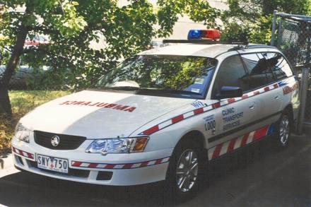 Holden Commodore Stationwagon Ambulance SNY750