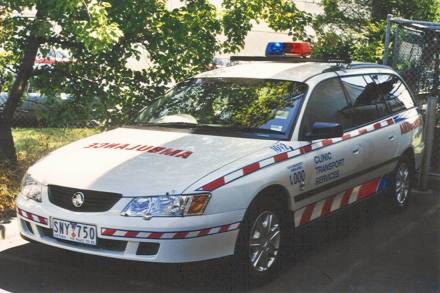 Holden Commodore Stationwagon Ambulance SNY750