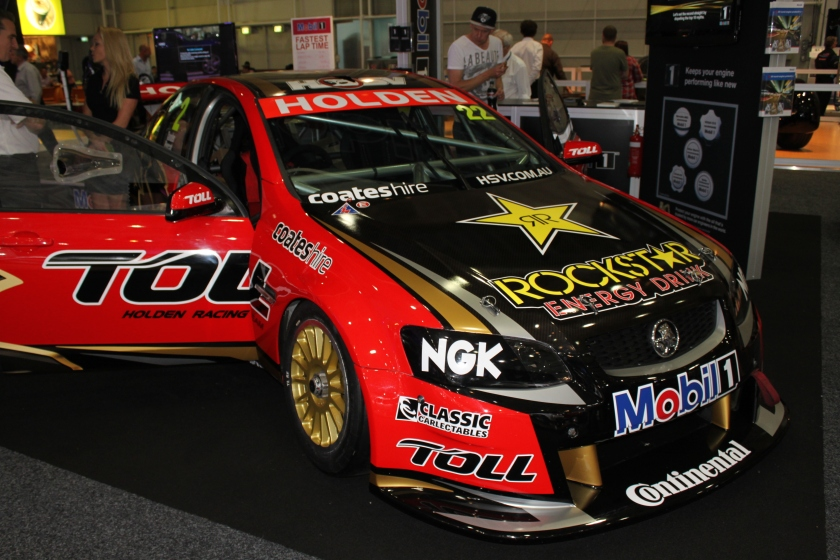 Holden Commodore VE V8 Supercar Courtney