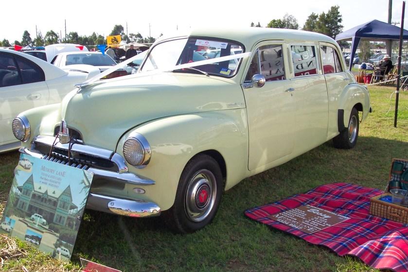 Holden FJ stretched limousine