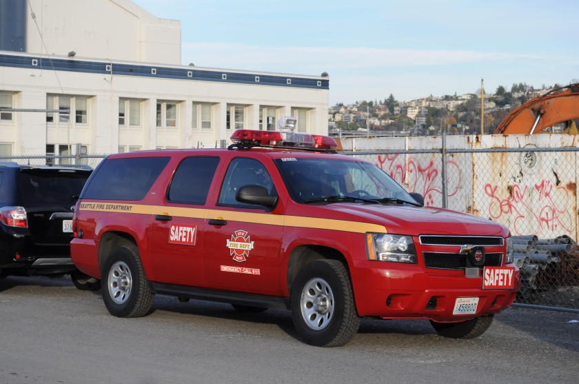 Holden Suburban Seattle Fire Department