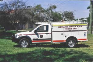 Holden YTF601 Ambulance a