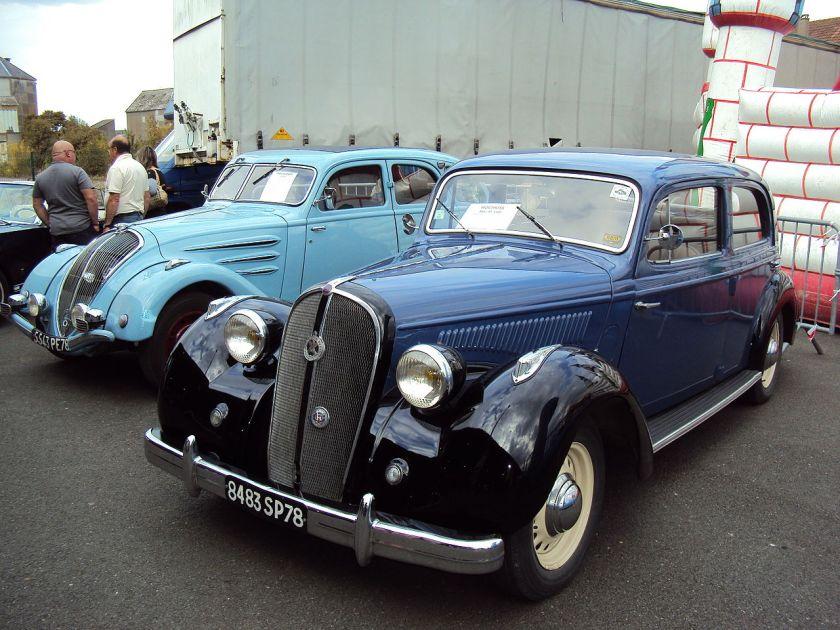 Hotchkiss 864 S 49 - Peugeot 402