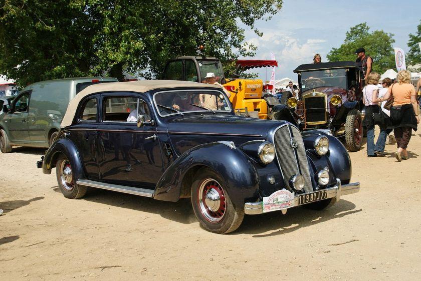 Hotchkiss Belle auto