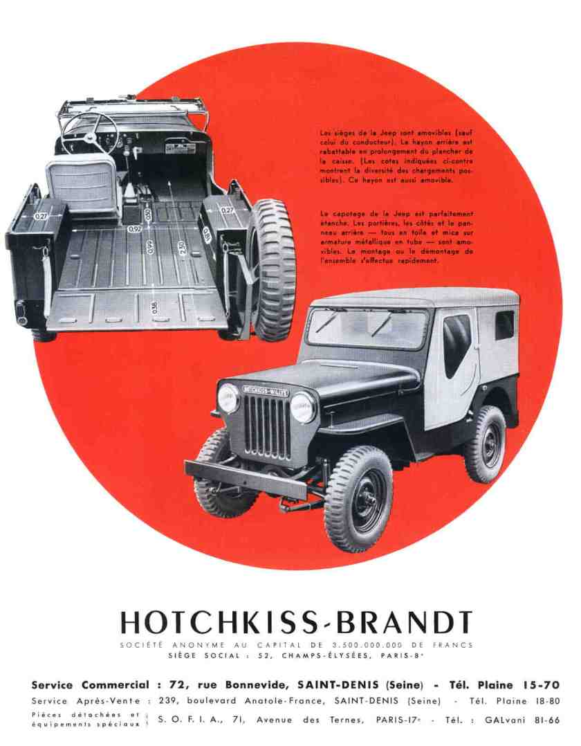 Hotchkiss-Brandt Jeep