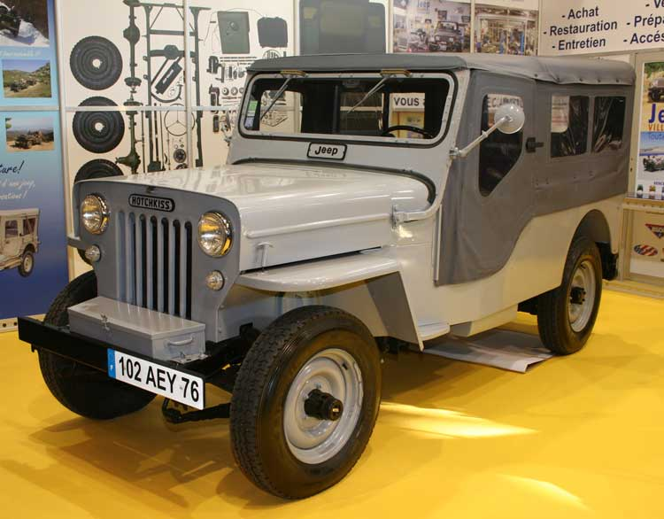 Hotchkiss-built Jeep