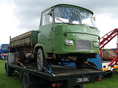 Hotchkiss DH80 Dropside Lorry