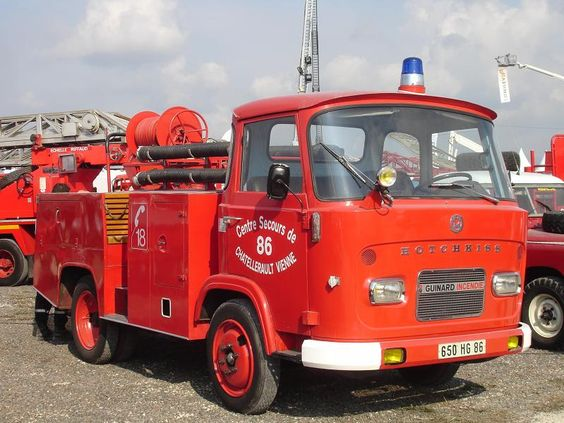 Hotchkiss Fire and rescue truck
