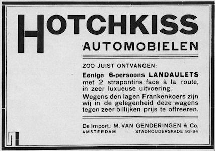 hotchkiss genderingen adv