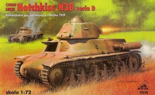Hotchkiss H38 serie D