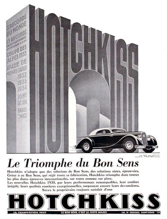 Hotchkiss Le triomph du Bon Sens poster
