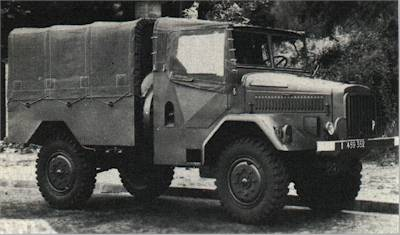 Hotchkiss M18-T2 Truck, 1.25 tonne, 4x4, Cargo (Air Force)