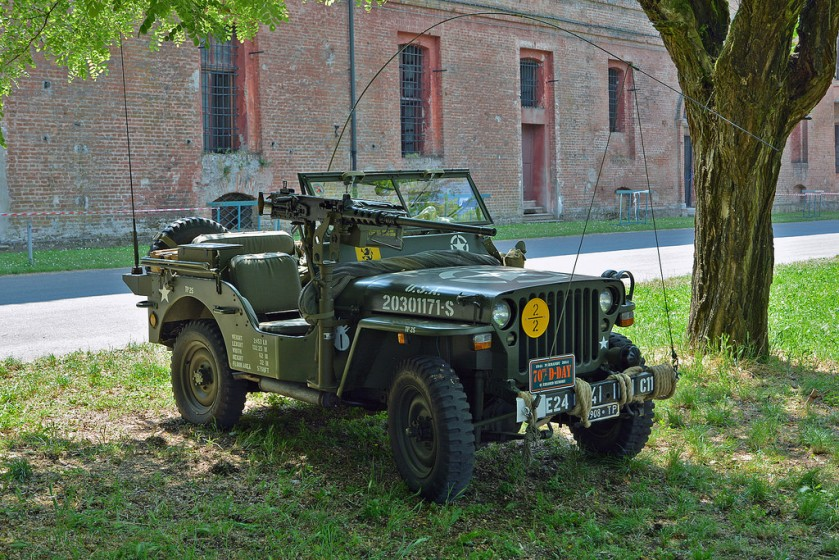 Hotchkiss M201 Jeep kopie willys mb jeep