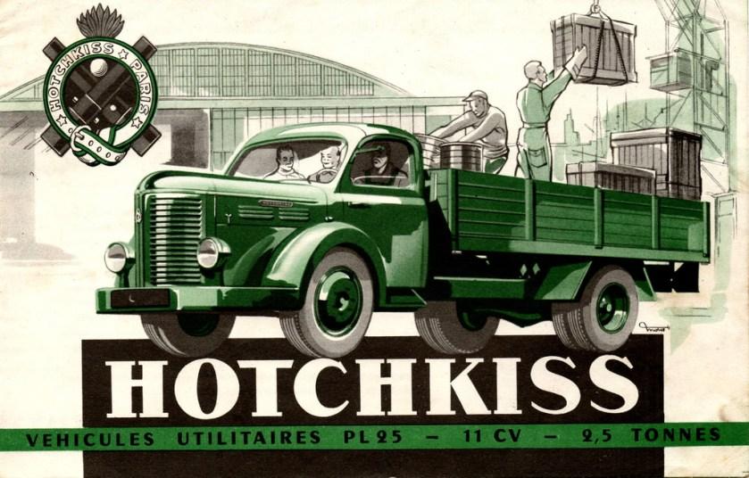 HOTCHKISS PL 25 ad
