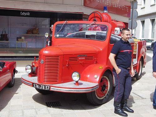 Hotchkiss PL20 ex- pompiers de Tours 974