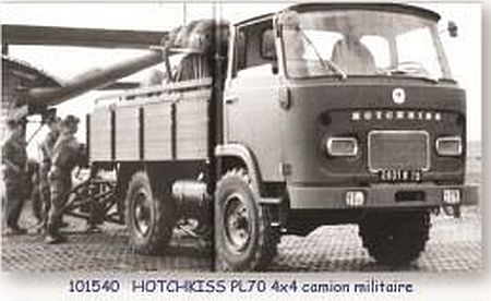 HOTCHKISS PL70 4x4 MILITARY TRUCK
