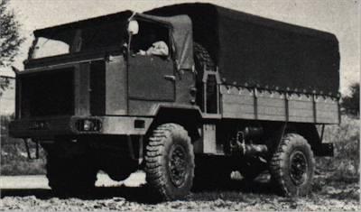 Hotchkiss PL90 MAV Truck, 3-tonne, 4x4, Cargo
