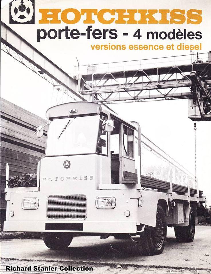 Hotchkiss porte-fers - 4 modèles