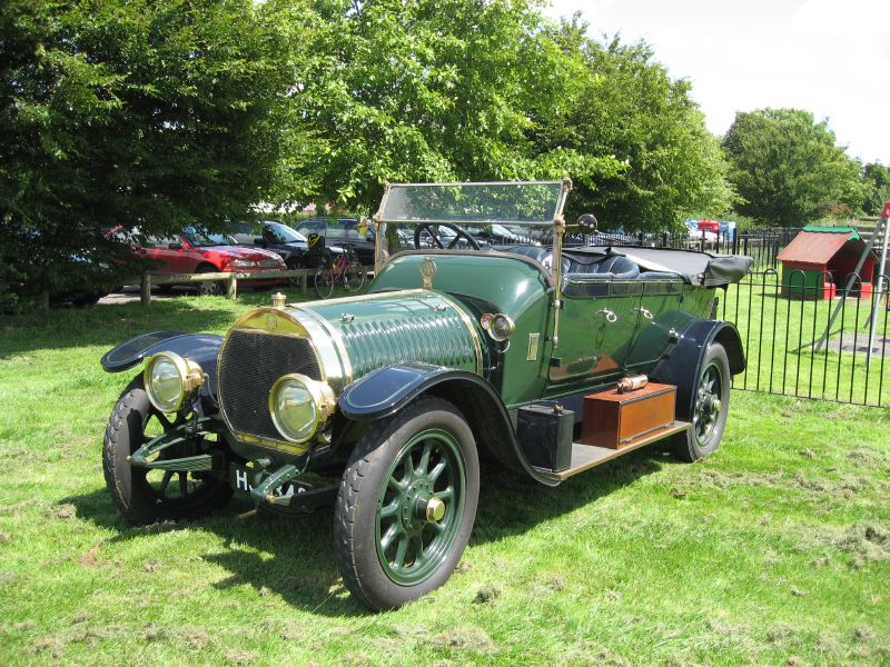 Hotchkiss Tourer (753758201) 4 cylinder 20-30 hp, 6 litre, restored with an ex-Rolls Royce Silver Ghost body. Car no 3386, engine no.88 a