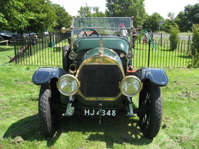 Hotchkiss Tourer (753758201) 4 cylinder 20-30 hp, 6 litre, restored with an ex-Rolls Royce Silver Ghost body. Car no 3386, engine no.88 b