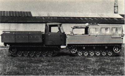 Hotchkiss TTC501 (1970) & HB40 (1966) Carriers, Full-Track, Cargo