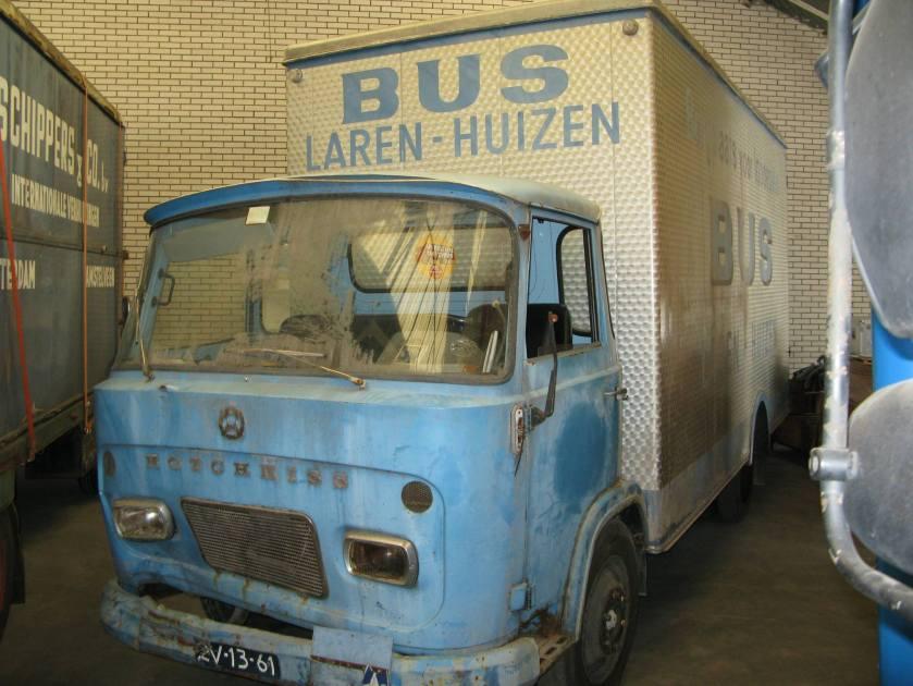 Hotchkiss verhuiswagen van Fa. Bus uit Laren