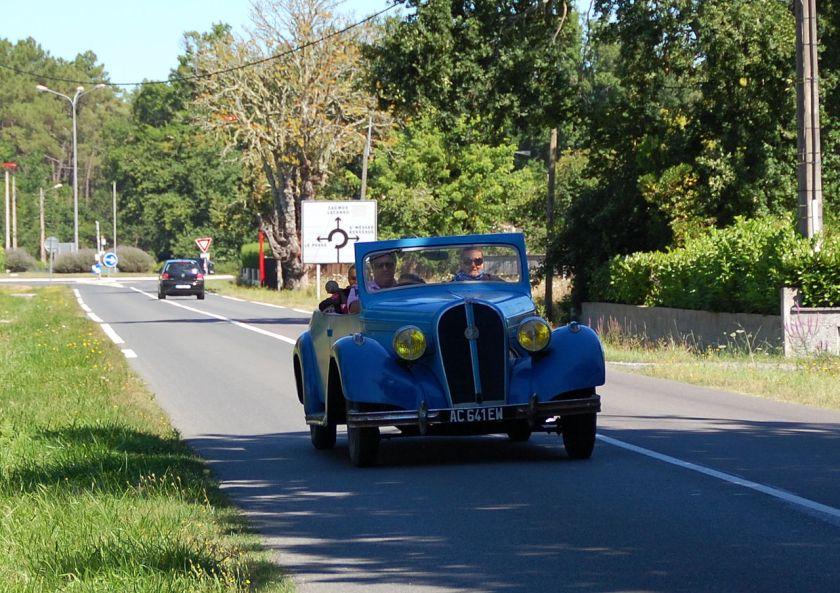 Hotchkiss Vieille voiture