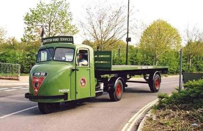 Scammel british road Services