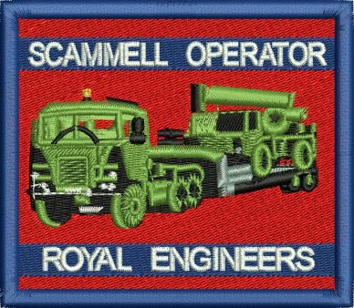 Scammel Crusader Royal Engineers