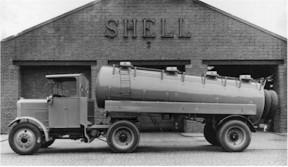 scammel shell-frameless-tanker